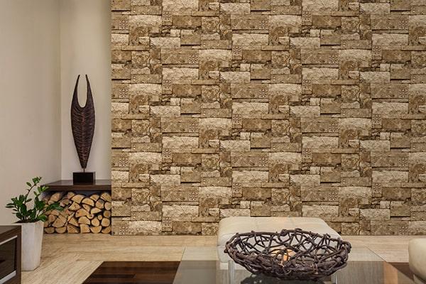 giá giấy dán tường với Sử dụng giấy dán tường giúp ngôi nhà trở nên thật sang trọng