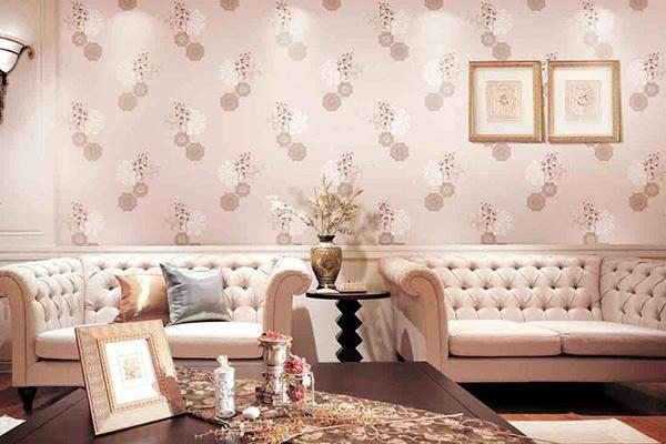 Giấy dán tường giúp cho ngôi nhà trở nên thật hoàn mỹ