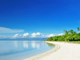 Uninhabited island