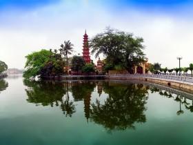 Tran Quoc, Oldest Pagoda in Vietnam.