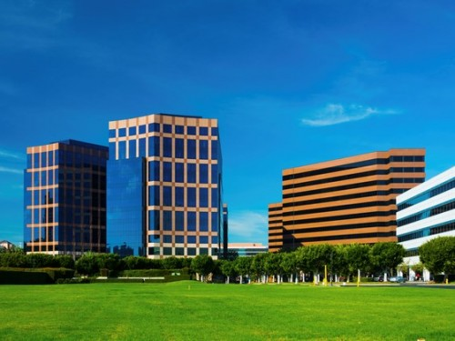 Irvine Business Complex highrise office buildings
