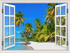 Tranh cửa sổ DCB2030