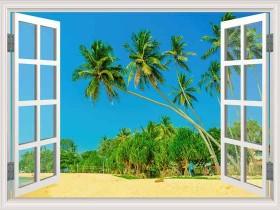 Tranh cửa sổ DCB2035