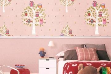 Khám phá không gian kỳ ảo mới lạ với giấy dán tường cho bé