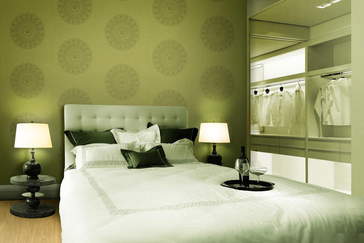 Giấy dán tường hàn quốc cho phòng ngủ