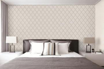 Chọn giấy dán tường Hàn Quốc theo diện tích phòng ngủ