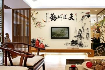 Tranh dán tường khổ lớn, Phong cách nghệ thuật trang trí đa dạng