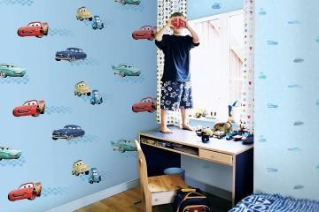 Giấy dán tường dành cho bé trai – Món quà tinh thần cho trẻ