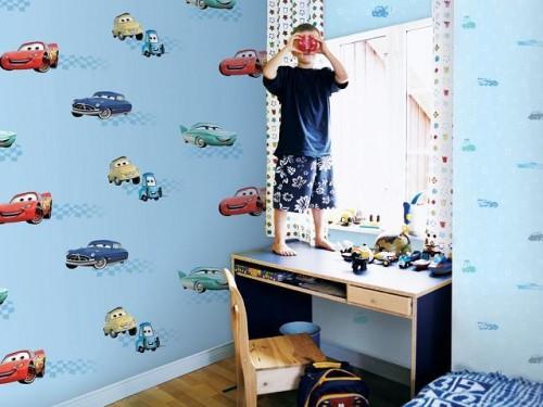 giấy dán tường dành cho bé trai