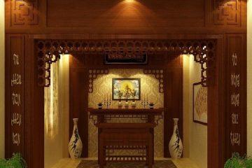 Tại sao nên chọn giấy dán tường 3D phòng thờ?