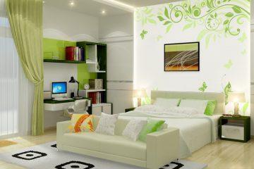 Kinh nghiệm chọn giấy dán tường đẹp cho phòng ngủ nhỏ nhất định bạn phải biết