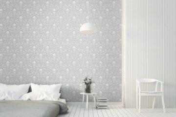 Đẹp và rẻ? Giấy dán tường phòng ngủ bao nhiêu tiền 1m2?