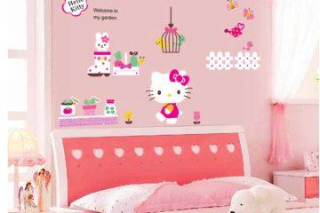 Giấy dán tường phòng ngủ trẻ em đẹp và xinh xắn
