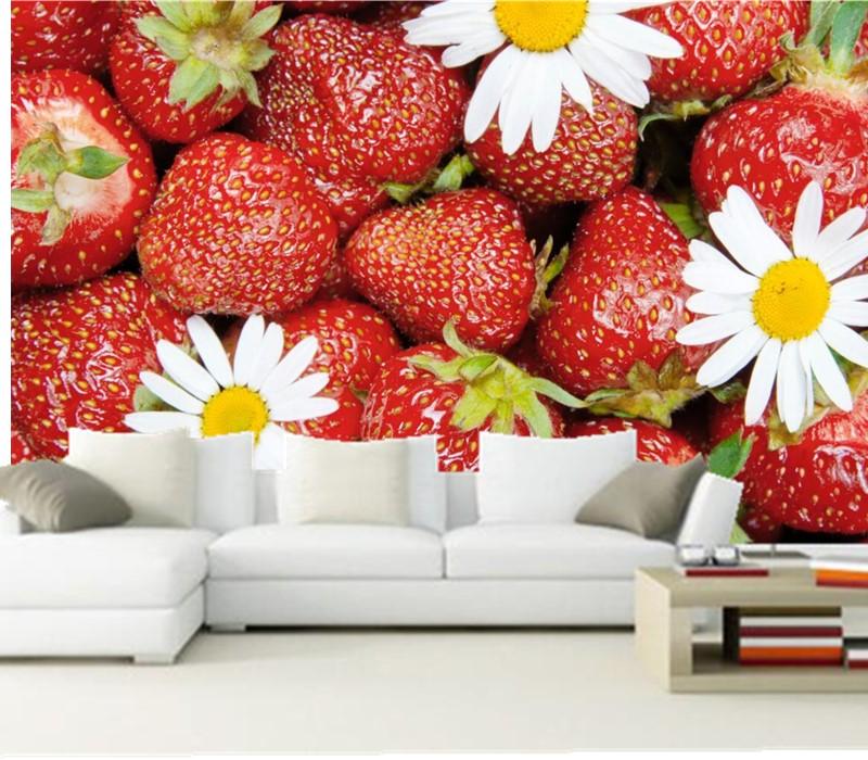 Tranh dán tường hoa quả