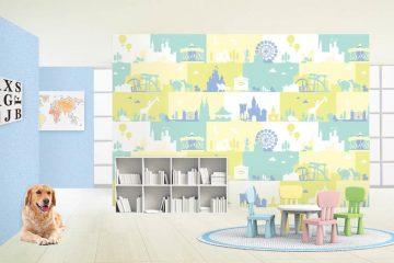 Xem ngay các mẫu giấy dán tường trẻ em Hà Nội đầy màu sắc