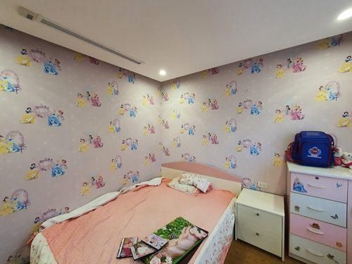 giấy dán tường trẻ em