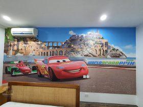 tranh dán tường