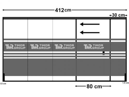 thiết kế dán kính mờ