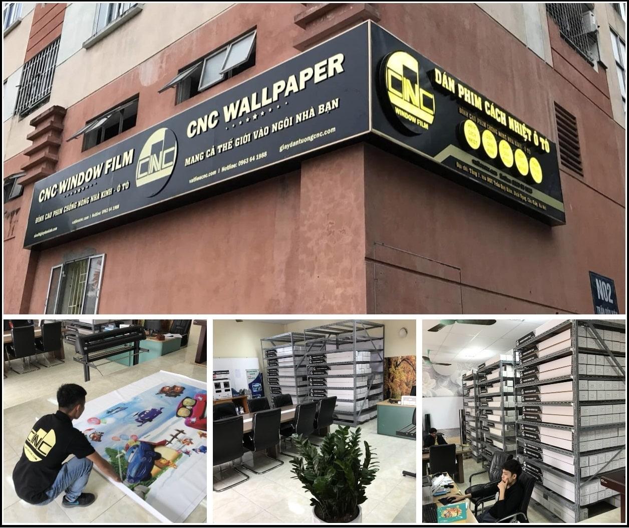 CNC WALLPAPER tại Hà Nội