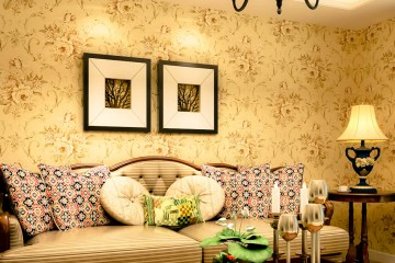 Tư vấn chọn mẫu giấy dán tường phòng khách Đẹp & Ấn Tượng