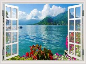 Tranh cửa sổ DCB2049