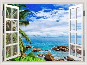 Tranh cửa sổ DCB2052