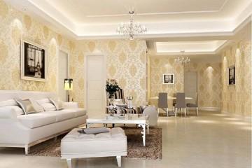 Giấy dán tường tân cổ điển, xu hướng mới cho ngôi nhà hiện đại