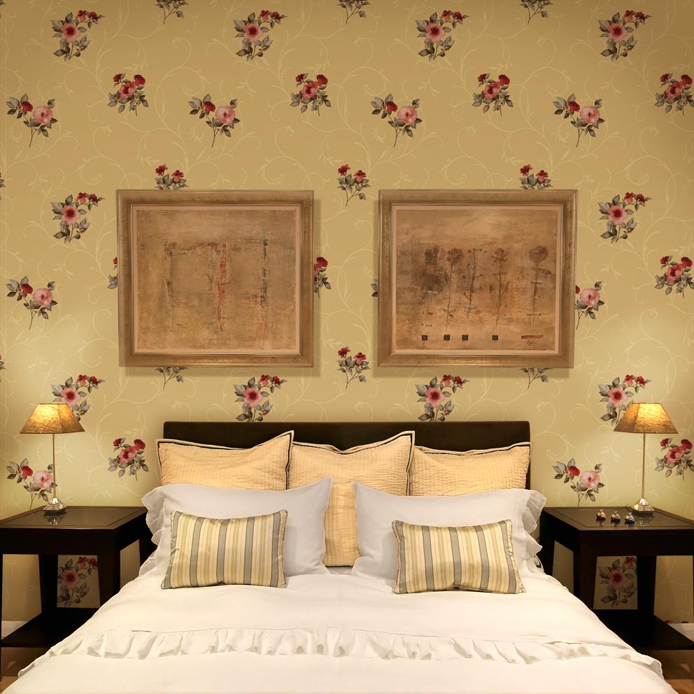 TOP 5 mẫu giấy dán tường đẹp cho phòng ngủ càng thêm ấm áp