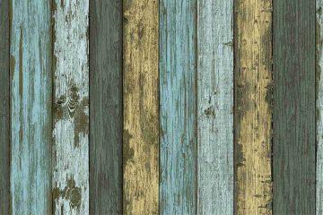 4 mẫu giấy dán tường giả vân gỗ siêu đẹp như gỗ