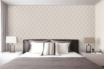 Giấy dán tường phòng ngủ Hàn Quốc – Nâng niu giấc ngủ vàng