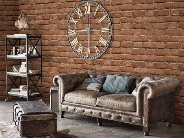 Decal dán tường độc đáo thích hợp trang trí phòng khách (Mẫu:EIGHT 2124-3)