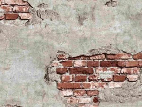 Mẫu giấy dán tường giả gạch mang nét cổ điển (Mẫu: Nature 87034-2)