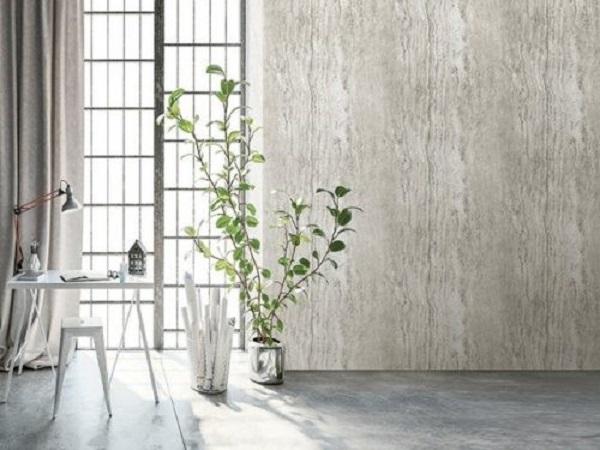 Giấy dán tường giả gỗ với màu sắc trang nhã (Mẫu: Hera H6047-1)