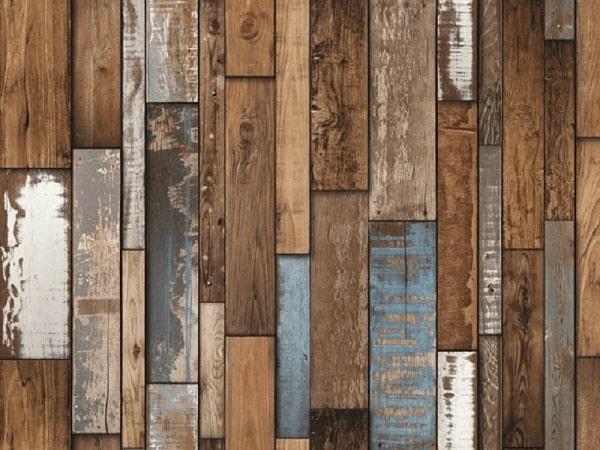 Mẫu giấy dán tường giả gỗ Hàn Quốc bán chạy năm nay