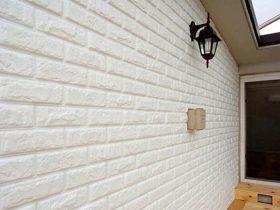 Xốp dán tường giả gạch trắng