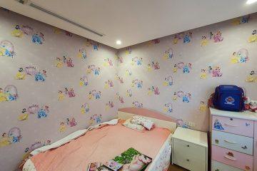 Giấy dán tường cho bé, không gian đẹp tạo nên cá tính