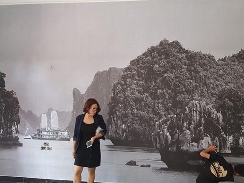 dán tranh dán tường