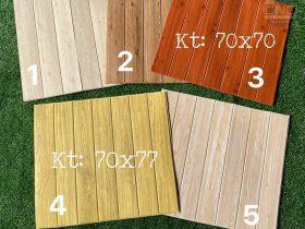 Xốp dán tường giả gỗ