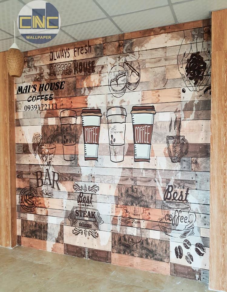 Tranh chủ đề cafe