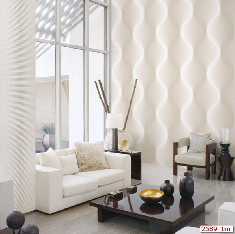 Giấy dán tường 3D với họa tiết cực lạ mắt và sống động