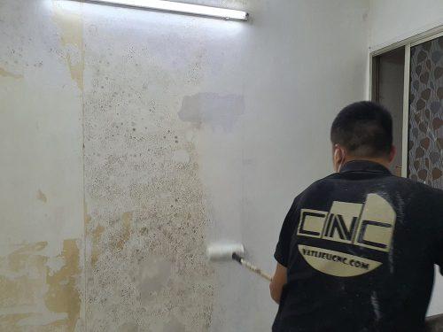 Bóc bỏ tranh có hỏng tường không