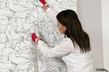 Bật mí cách dán giấy dán tường chống nhăn hiệu quả